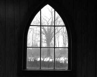 Light and glass art photograph