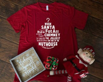 Santa Griswold Tee