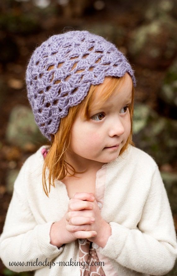 Crochet Hat Pattern For Kids Crochet Hat Pattern For Girls Lace