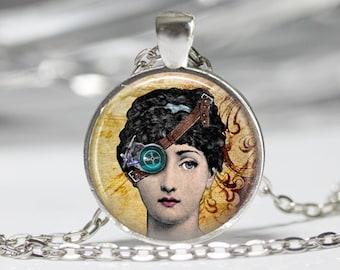 Steampunk Jewelry Steampunk Neckace Steampunk Woman