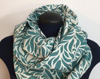 Infinity scarf - Jade garden