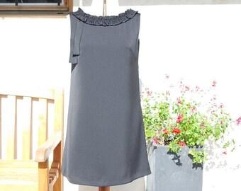 Little black dress sleeveless a line