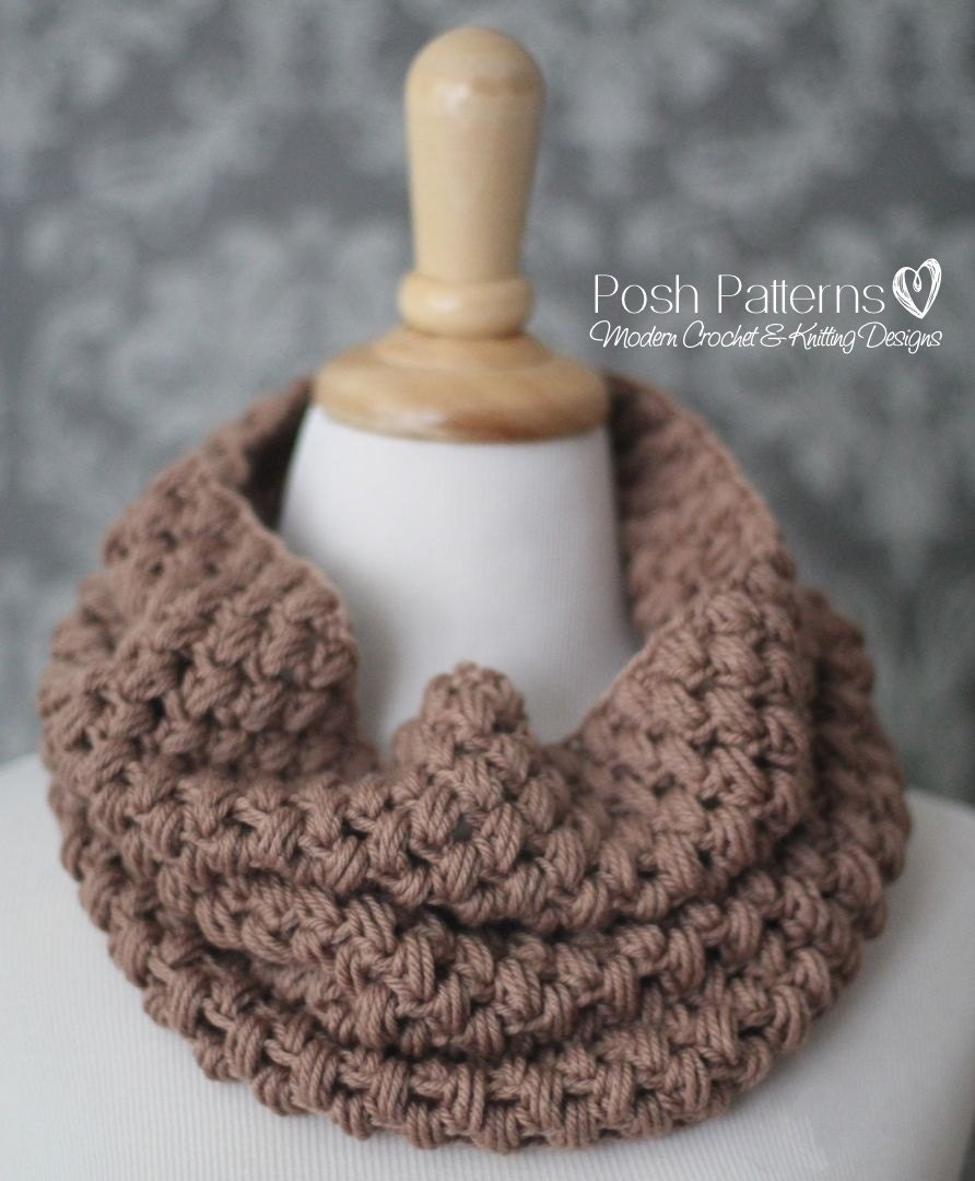 Crochet pattern crochet cowl pattern crochet pattern scarf zoom bankloansurffo Choice Image