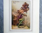 Burdock Flower Fairy Vint...