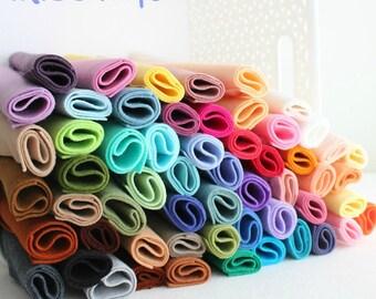 Merino Wool Blend Felt - You Choose 20 9x12 Sheets