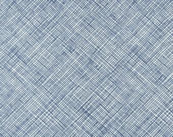 Carolyn Friedlander FABRIC - Architextures - Blue