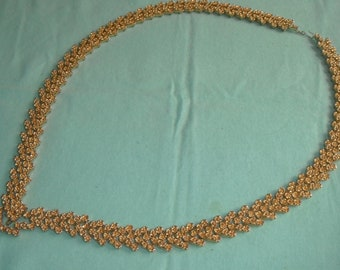 Long mayoral/ceremonial chain in gold tone and decorative