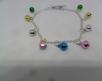 1  Beautiful Handmade bell beaded bracelet for special