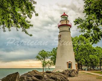 Marblehead Lighthouse, Lake Erie Sunset
