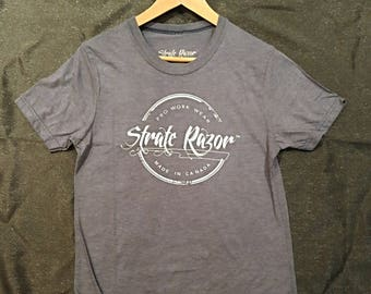 Canadian Made Bamboo T-shirts- Navy Blue