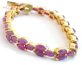 Gorgeous Ruby Bracelet