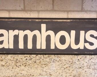Farmhouse wood sign/ farmhouse decor/ rustic decor/ wall decor