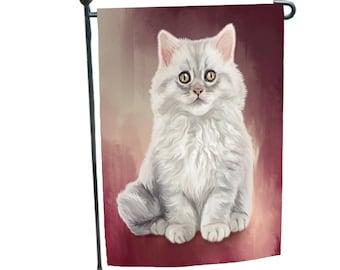 Persian Cat Garden Flag