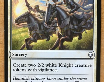 Call the Cavalry, Limited edition MTG Artist proof, By Scott Murphy