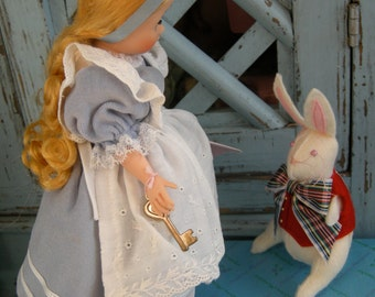 Madame Alexander's Alice and the White Rabbit