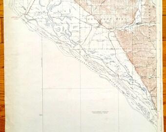 Antique Nebo, Illinois 1930 US Geological Survey Topographic Map – Pleasant Hill, Bardin, Atlas, Ross, Martinsburg