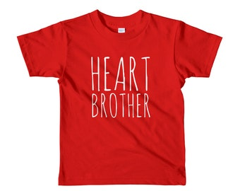 Heart Brother // Youth 2-6yrs T-Shirt // CHD Awareness