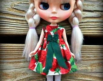 Summer Strawberry Blythe Dress