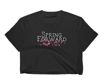 Spring Forward Women's Crop Top