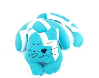 Cat Stuffed Animal Pattern / Sewing Patterns / Cat Sewing Pattern / Stuffed Cat Pattern / Stuffed Cat Sewing Pattern / Soft Toy Patterns