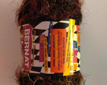 Bernat Frenzy Yarn Black Blast