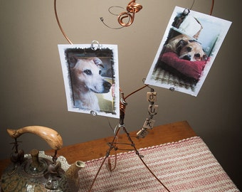 Pet Frame | Dog Memorial | Pet Memorial Frame | Copper Wire | Heart Frame | Dog Frame | Dog Frame | Cat Frame | Pet Memorial