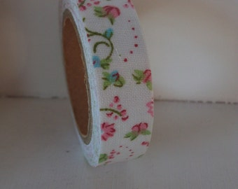 Floral Fabric Tape - 5m