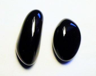 100 ct Mixed lot polished Apache Tear Obsidian Arizona # E 4