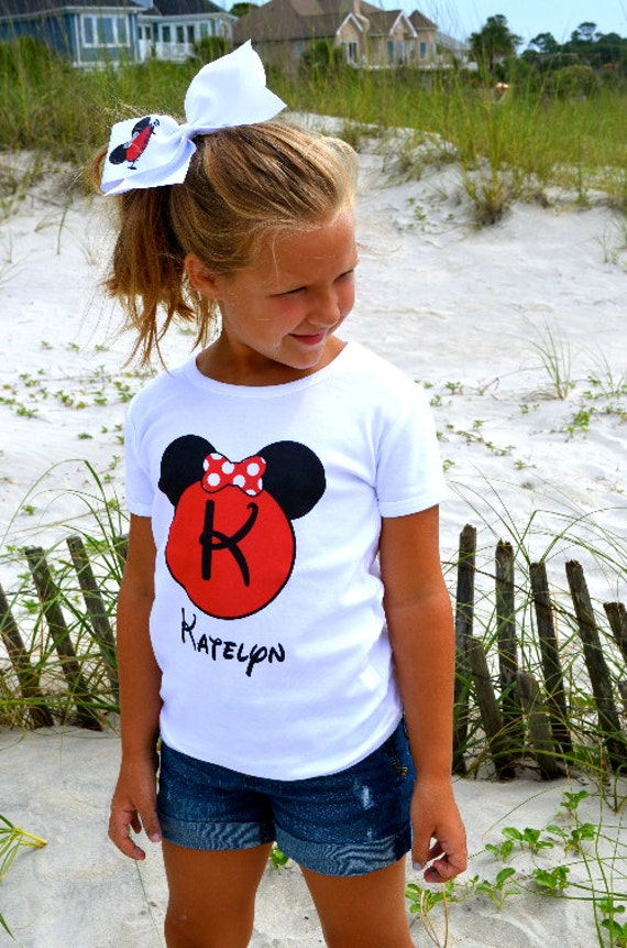 Digital DOWNLOAD Personalized Disney Minnie Mickey Mouse Family Vacation Printable Art Clip Art DIY Iron On to Tee T-Shirt Transfer