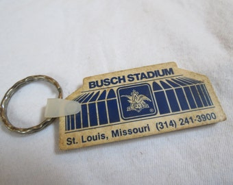 Busch Stadium St. Louis Missouri Vintage Souvenir Key Chain