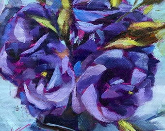 ranunculus | flower painting | flower art | floral painting | floral art | gift for her | home decor | living room decor | spring flower art