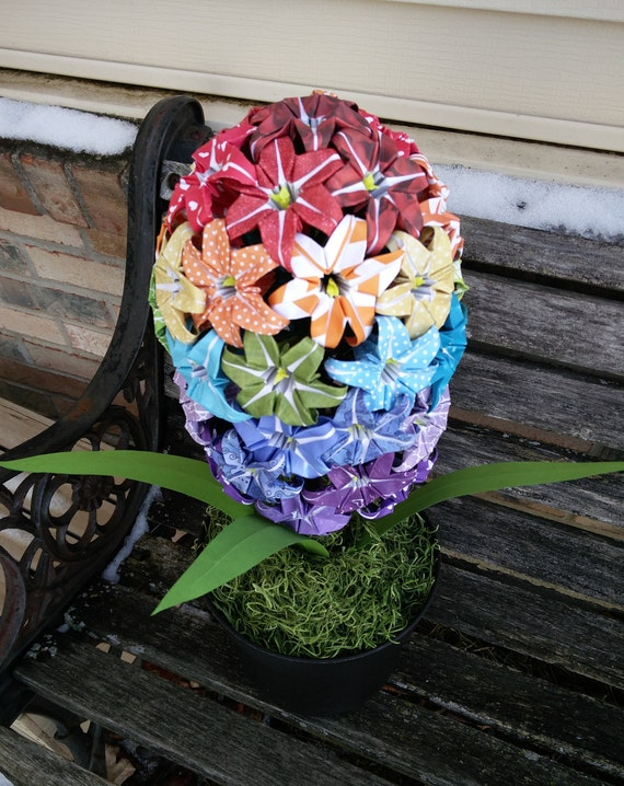 Paper Hyacinth Flower. CHOOSE YOUR COLORS. Wedding, Birthday, Gift, Valentine, Mother's Day.
