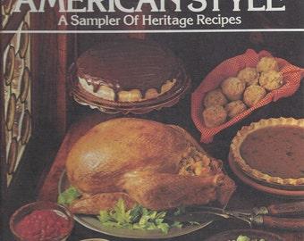 Betty Crocker's Cooking American Style 1976