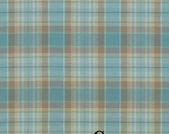 Mocambo Plaid - Various Colors Available - Home Decor Fabric by the Yard