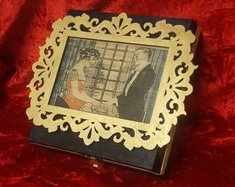 Vintage Ouija Seance Gothic Jewelry Case (Jewelry Box)
