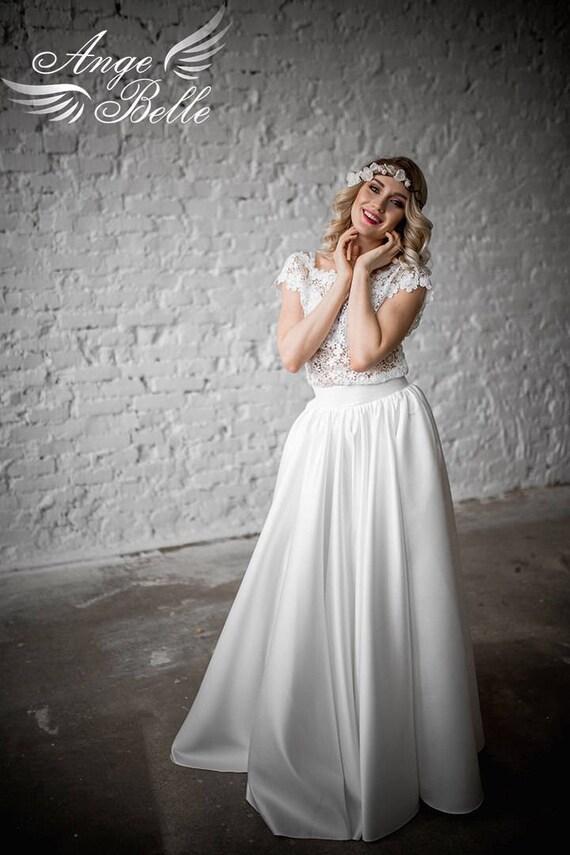 Brautkleid Set Hochzeit. Zurück zu öffnen Spitze Brautkleid