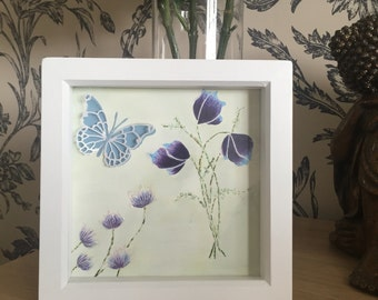 Wall Art flower scene