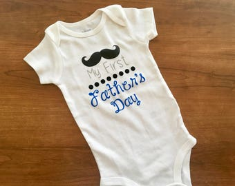 First Father's Day onesie, first father's day