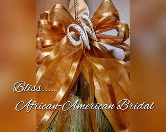 The Bliss Bridal Broom™ for Jumping the broom