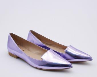 Wedding flats Bridal wedding flat shoes Wedding shoes Flats flat Handmade Ballet flats gift women gift Bridal flats gift blue women shoe