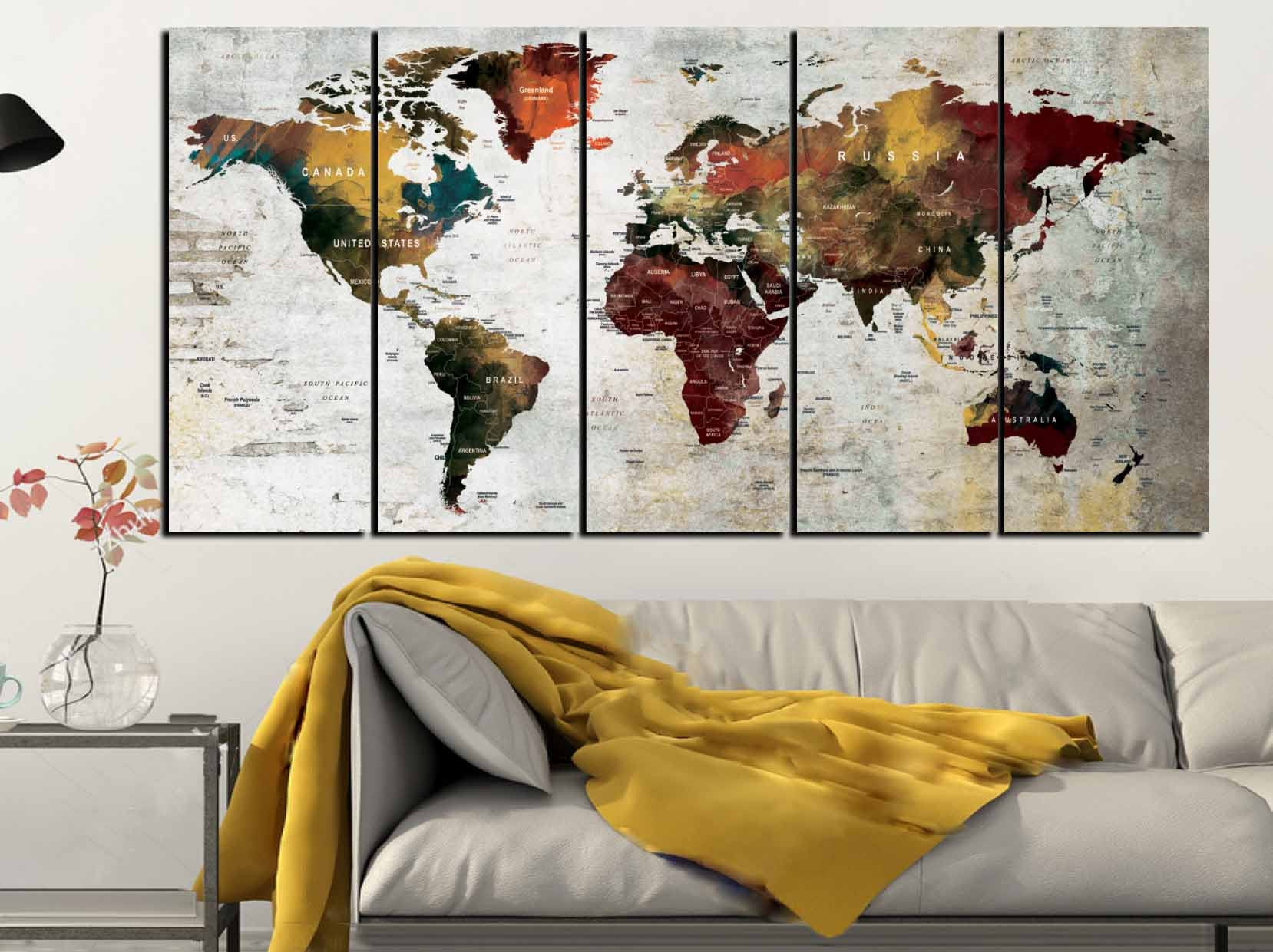 World map artworld map canvaslarge world mapworld map wall art world map artworld map canvaslarge world mapworld map wall artabstract world mapabstract map artwatercolor world mapwatercolor map gumiabroncs Images
