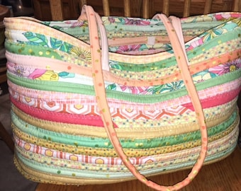 Fabric Rope Tote Pattern