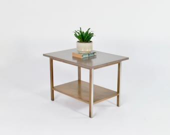 Paul McCobb for Calvin End Table // Side Table // Bedside Table