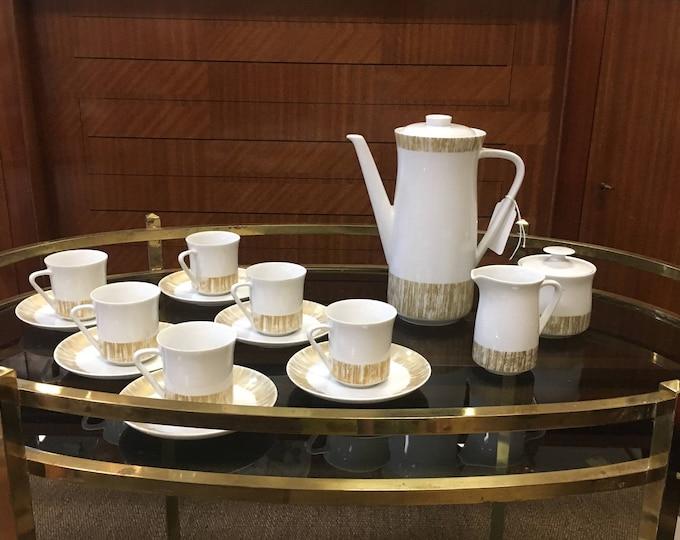 1960s Mid Century Modernist Rosenthal China Tea Set