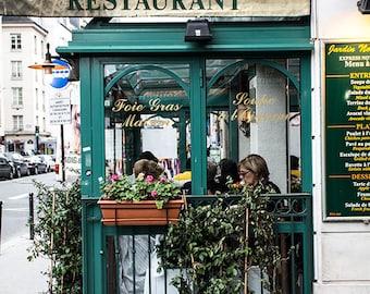 Travel Photography, Paris Photography, Photography Bistros, Cafes, Restaurant Decor, Home Decor, Wall Art, Paris, Europe