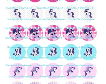 My Little Pony Instant Download 1 inch bottle cap images