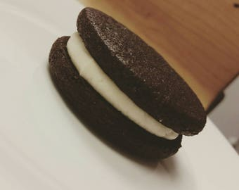 Home made Wu-Oreo Cookie with sugar filling