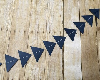 Triangle Garland -- Triangle Banner -- Tribal Garland -- Tribal Banner-- Tribal Party -- Aztec Banner -- Triangle