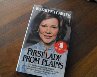 Rosalynn Carter, First Lady From Plains Paperback Book