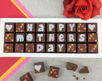 Happy Mothers Day Gift Box of Chocolates - Chocolates for Mum - Mother's Day chocolates - Gift for Mums